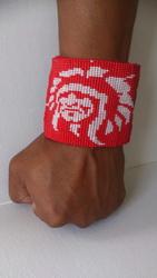 46 geweven armband gemaakt door Janet