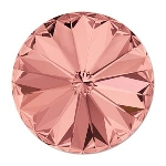 swarovski rivoli chaton 14 mm - blush rose