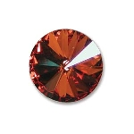 swarovski rivoli chaton 14 mm - crystal chili pepper foiled