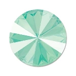 swarovski rivoli chaton 14 mm - mint green