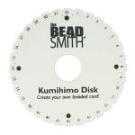 kumihimo disk - round 15 cm with 35 mm hole