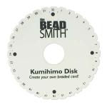 kumihimo schijf - rond 15 cm met gat van 35 mm