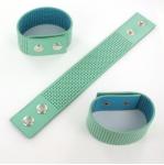armband met gaatjes - mint medium