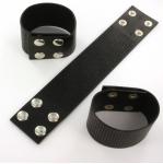 armband met gaatjes - zwart large