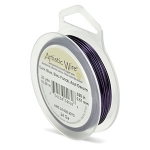 artistic wire 26 gauge - dark blue