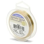 artistic wire 24 gauge - gold color