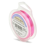 artistic wire 24 gauge - rose