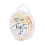 artistic wire 22 gauge 0.64 mm - bare phosphor bronze