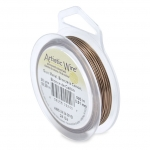 artistic wire 24 gauge - antique brass