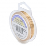 artistic wire 28 gauge - silver plated gold