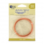artistic wire 16 gauge - bare copper