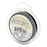 artistic wire 22 gauge - black