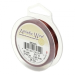 artistic wire 26 gauge - brown