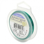 artistic wire 22 gauge 0.64 mm - christmas green
