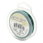 artistic wire 26 gauge - kelly green