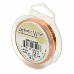 artistic wire 24 gauge - bare copper