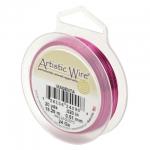 artistic wire 22 gauge - magenta