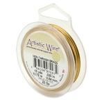 artistic wire 18 gauge - non-tarnish brass