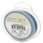 artistic wire 22 gauge - powder blue