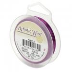 artistic wire 18 gauge - purple