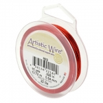 artistic wire 22 gauge - red