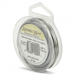 artistic wire 22 gauge - stainless steel