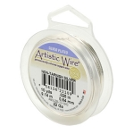 artistic wire 28 gauge - non tarnish silver