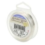 artistic wire 28 gauge - non tarnish silver