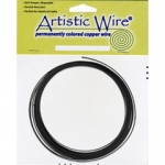 artistic wire 14 gauge - black
