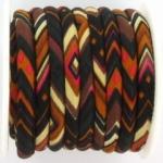 aztec koord 6 mm - zwart bruin
