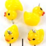 bath duck - yellow