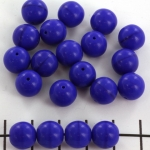 basiskraal rond 10 mm - donkerblauw