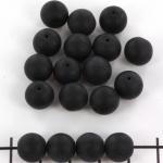 basiskraal rond 10 mm - zwart mat