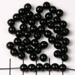 basiskraal rond 6 mm - zwart