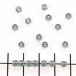 Basic bead round 4mm - dark grey