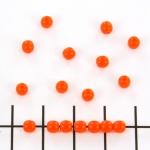 basiskraal rond 4 mm - oranje