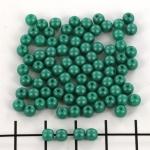 basiskraal rond 4 mm - powdery teal