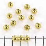 round - 8 mm gold