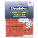 beading needle - 12 x #10