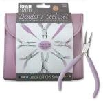 Beader tool set  - met 8 tangen - orchid