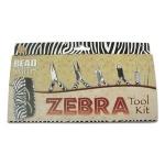 Beader tool set  - zebra