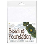 beading foundation 4.25x5.5 inch - wit