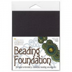 beading foundation 4.25x5.5 inch - black