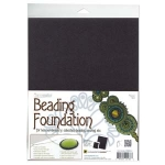 beading foundation 8.5x11 inch - black