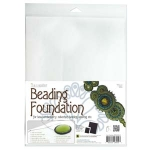beading foundation 8.5x11 inch - white