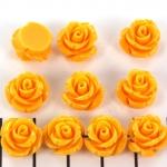 roosje 11 mm - geel oranje