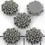 bloem chrysant 21 mm - titanium
