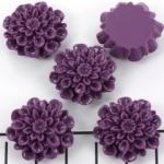 bloem chrysant 21 mm - oud paars