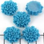 bloem chrysant 21 mm - turquoise