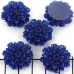 bloem chrysant 21 mm - donkerblauw